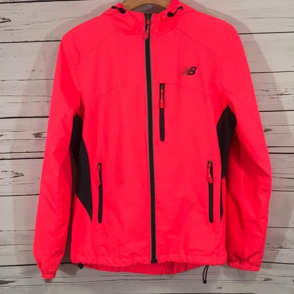 neon pink new balance jacket